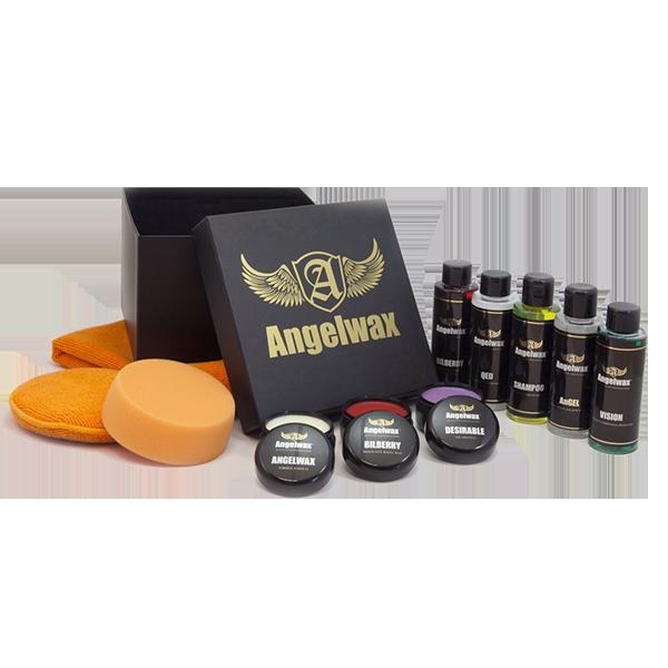 wax liquid sample box angelwax car care